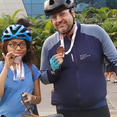 Mpower Mumbai Cycling Event