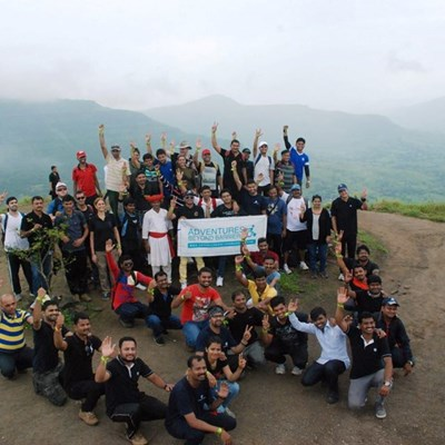 Inclusive Trek with Volkswagen staff to Tikona