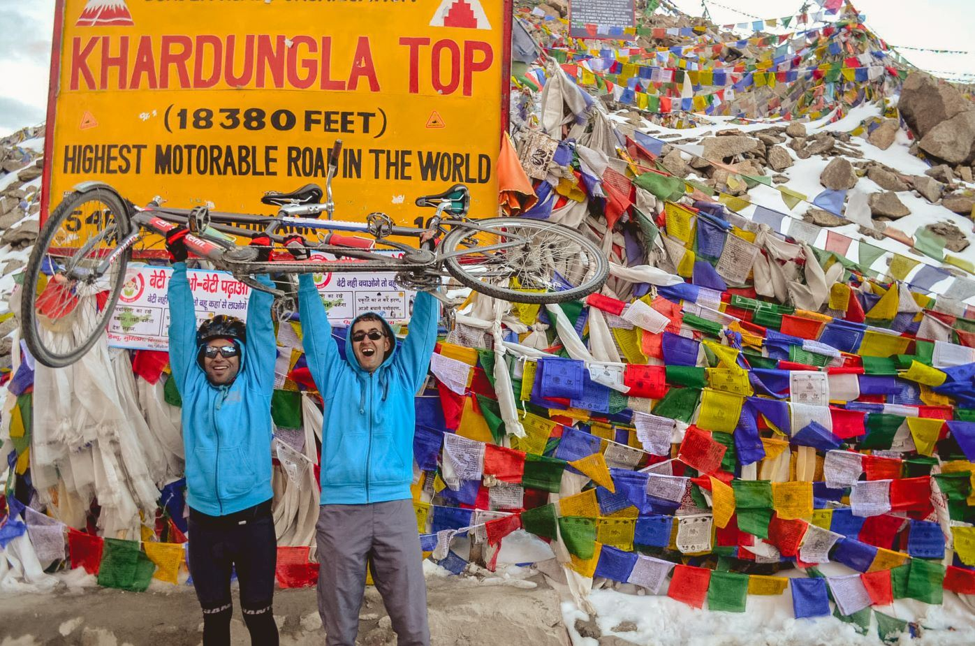 Inclusive Tandem Cycling Expedition - Manali to Khardung La 2016