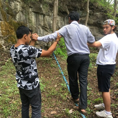 Inclusive Rappelling with International School Of Stuttgart