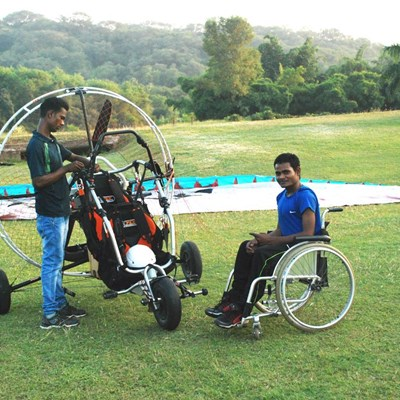 Paramotoring with Udaan at Chandigarh