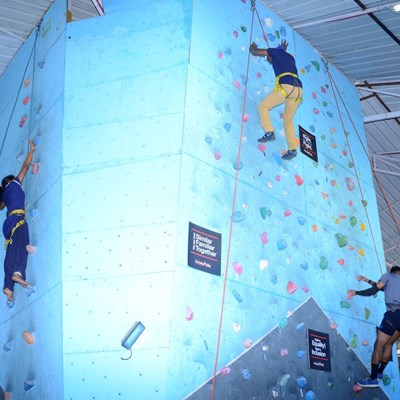Bangalore Wall Climbing with Firefox 2018