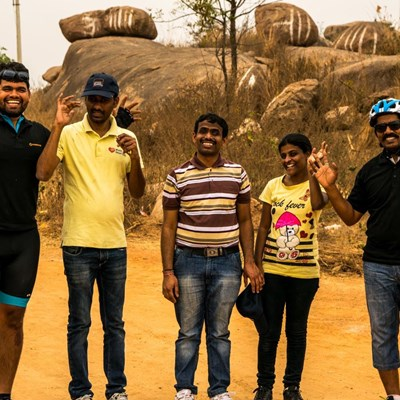 Trekking & Rappelling in Hyderabad with Firefox