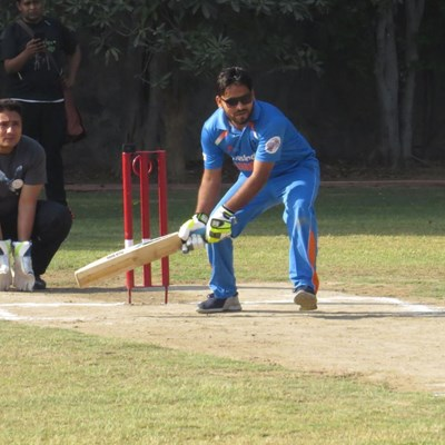 Delhi Blind Cricket with Firefox