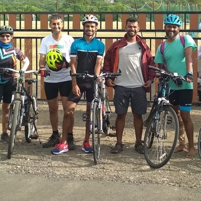 Inclusive Tandem Cycle ride with Bajaj Finserv