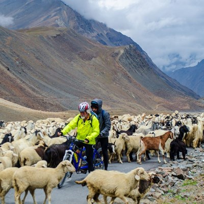 Manali to Khardung La Inclusive Tandem Cycling Expedition - M2K2018